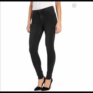 Paige Black Hoxton Ultra Skinny High Rise Jeans